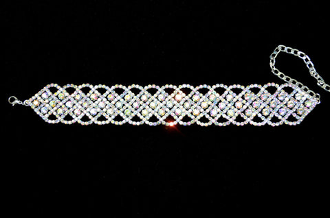 Rhinestone Chokers. Available in 4 colors