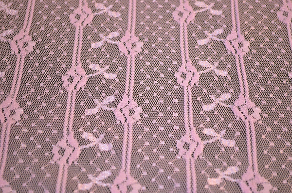 Antique Pink 2-Way Stretch Lace