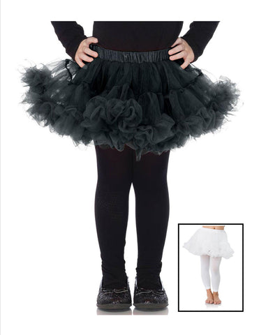 Nylon Chiffon Petticoat - 2 Sizes - 8 Colors Available