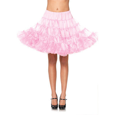 Deluxe Crinoline Petticoat - Available In Black or Pink
