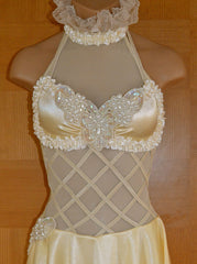 Ivory Sequin Beaded Appliqué