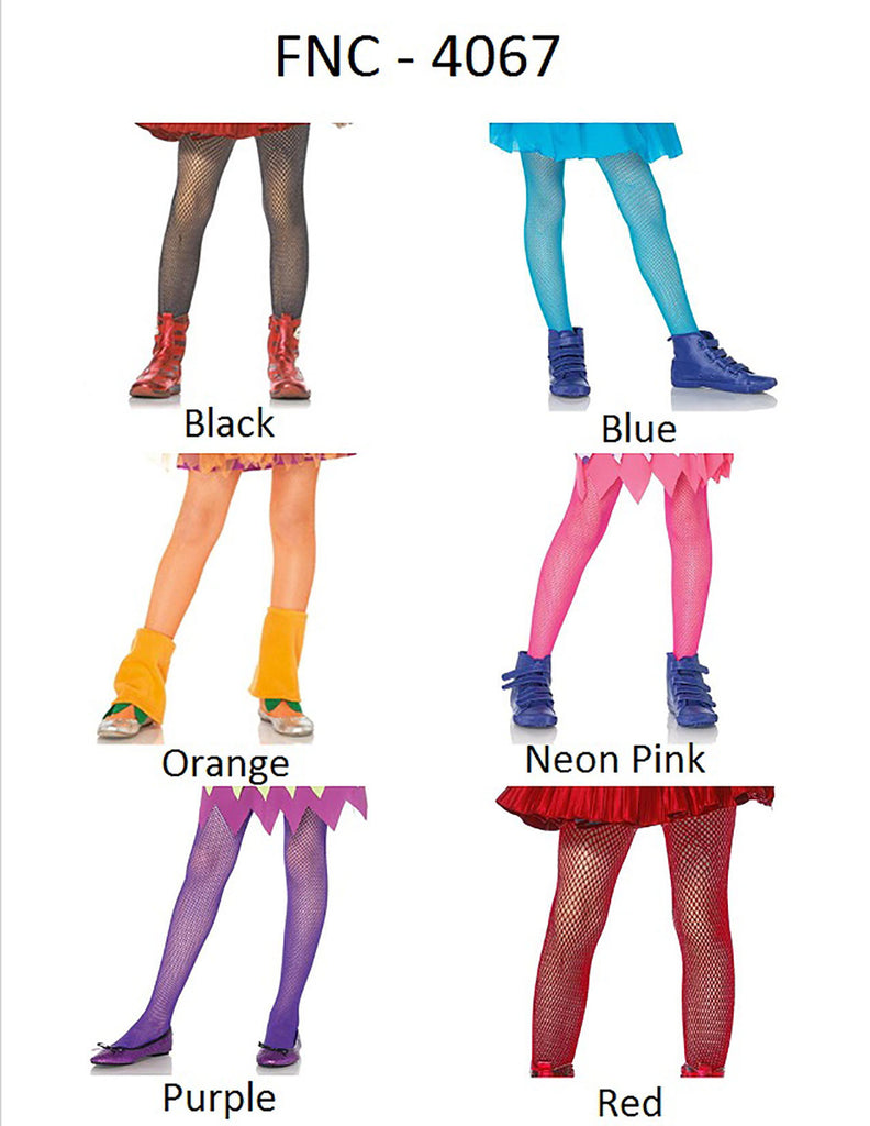 ad2bd789f527f ... Childrens Fishnet Tights - 4 Sizes Available - 7 Colors Available
