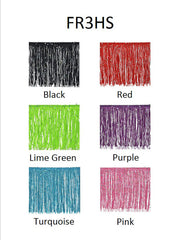 "3"" Chainette Fringe With Holographic Sequins - 7 Colors Available"