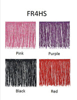 "4"" Chainette Fringe With Holographic Sequins - 4 Colors Available"