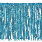 "6"" Chainette Fringe With Holographic Sequins - 8 Colors Available"