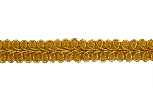 "1 /2"" Metallic Braid - Gold"