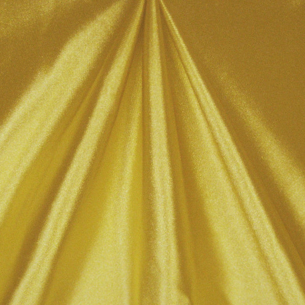 Solid Stretch Satin - Gold