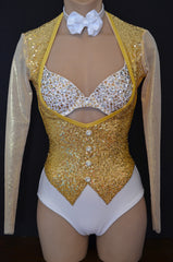 Gold Wiggle Sequin