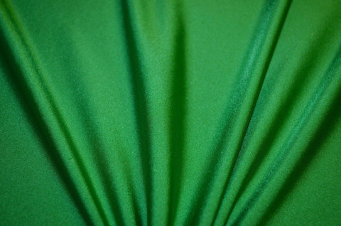 Kelly Green Shiny Tricot Nylon Spandex