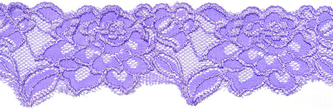 "2 1/2"" Stretch Lace - Lilac"