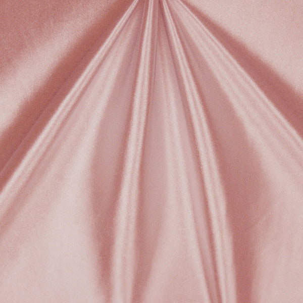 Solid Stretch Satin - Baby Pink