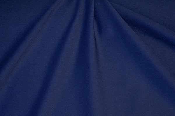 Midnight Blue Shiny Tricot Nylon Spandex