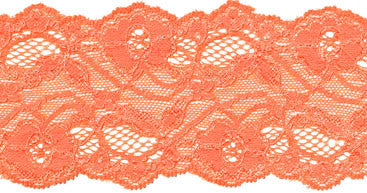 "3"" Stretch Lace - Peach"