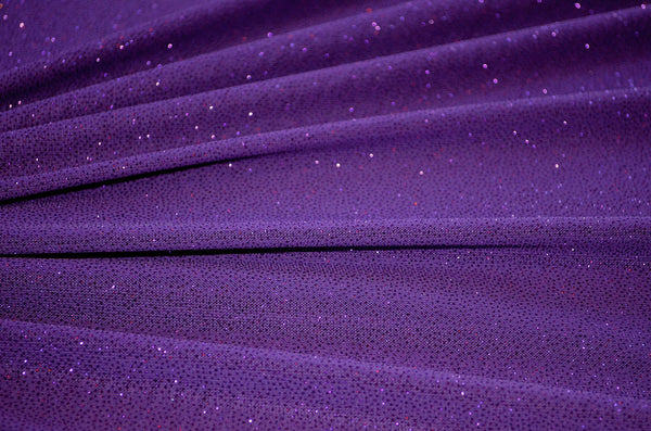 Purple Glitter Sheer