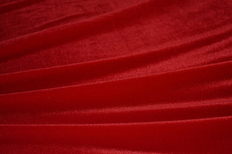 Red Deluxe Stretch Velvet