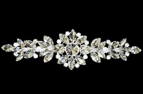 Crystal Gold Rhinestone Piece