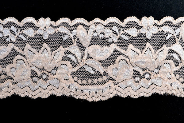 "2"" Stretch Lace - Tan"