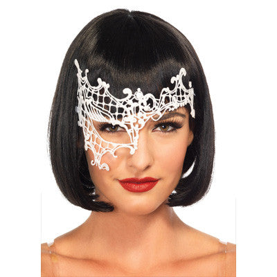 Venetian Applique Eye Mask. Available in Black & White