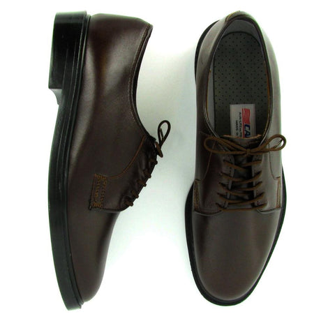 Capital - 90032-O - Brown Leather Air-Lite Oxford (Oversize)