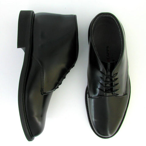 Trooper - 90086 - WELT Chukka Boot  in Black Leather