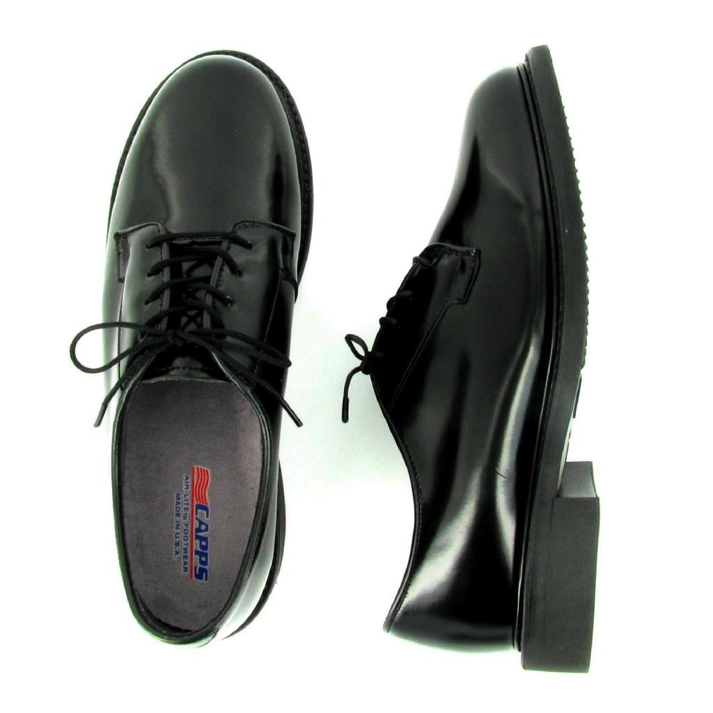 Rita - 90100 - WELT Oxford, Black Leather