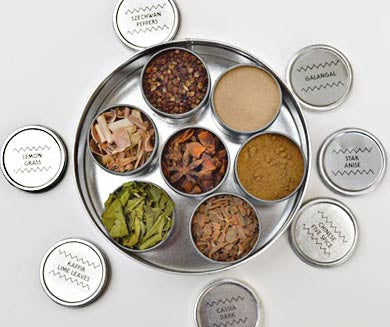 Spice Collection, Asian