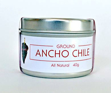 Chile, Ancho (ground)