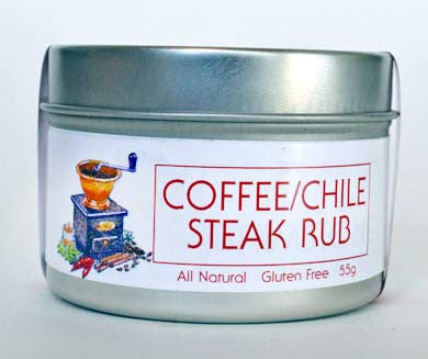 Coffee / Chile Steak Rub