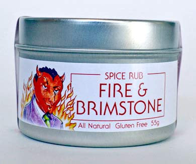 Fire and Brimstone (spice rub)