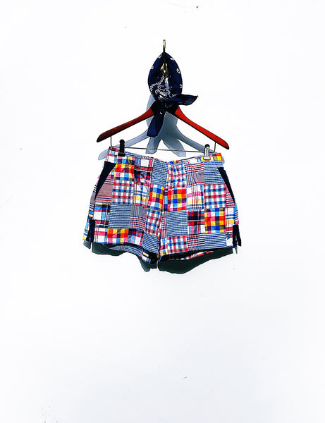 Sand Beach Shorts in Madras