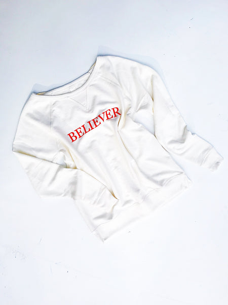 Believer Sweatshirt - Off-White