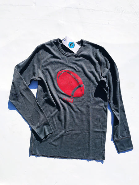 Tailgate Thermal in Charcoal & Crimson