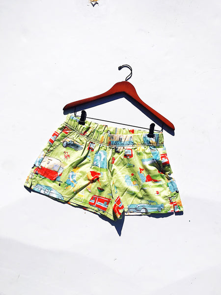 Sand Beach Shorts in Glamping