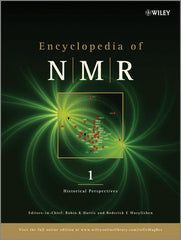 Encyclopedia of NMR, 10 Volume Set Robin K. Harris (Editor-in-Chief), Roderick E. Wasylishen (Editor-in-Chief)