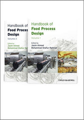 Handbook of Food Process Design, 2 Volume Set By Jasim Ahmed, Mohammad Shafuir Rahman