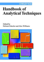 Handbook of Analytical Techniques, 2 Volume Set by  Helmut Gunzler (Editor), Alex Williams (Editor)