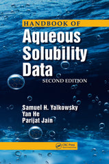 Handbook of Aqueous Solubility Data, 2nd ed by Yalkowsky
