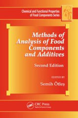 Methods Of Analysis Of Food Components And Additives,  2nd Edtion  by Otles Semih Et.Al