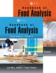 Handbook of Food Analysis, Third Edition - Two Volume Set By  Leo M.L. Nollet, Fidel Toldra
