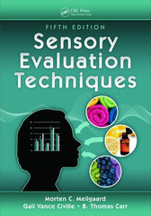 Sensory Evaluation Techniques, Fifth Edition By Gail Vance Civille, B. Thomas Carr