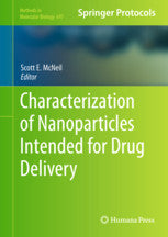 Characterization of Nanoparticles Intended for Drug Delivery By McNeil, Scott E. (Ed.)