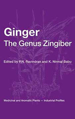 Ginger The Genus Zingiber  by P. N. Ravindran, K. Nirmal-Babu