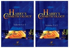 Harry's Cosmeticology , 8th ed. 2 volumes set By Dr. Martin Rieger