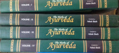 The Herbs of Ayurveda , 4 Volumes set. By Ashok Seth
