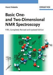Basic One- and Two-Dimensional NMR Spectroscopy by Friebolin