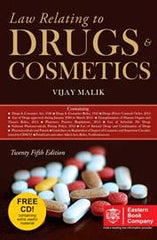 Law Relating to Drugs And Cosmetics by Vijay Malik