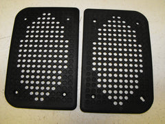 Speaker Grill Cover Pair - Black