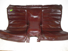 Seat Bottom - Rear - Burgundy