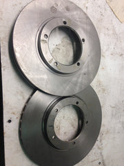 NEW front rotors for early car