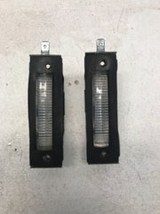 License Plate Light Assembly- Pair